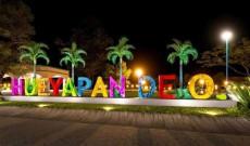 Letrero Turístico de Hueyapan de Ocampo quedará listo a más tardar en un mes