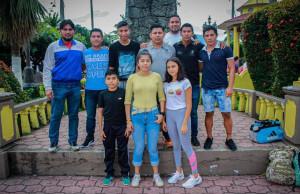 Alcalde Argeniz Vázquez Copete apoya a jóvenes deportistas