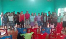 Instituto Municipal de la Mujer de Santiago Tuxtla continúa dando platicas sobre violencia