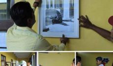 Casa de cultura de Santiago Tuxtla realiza préstamo de galería «Maestros Jaraneros»