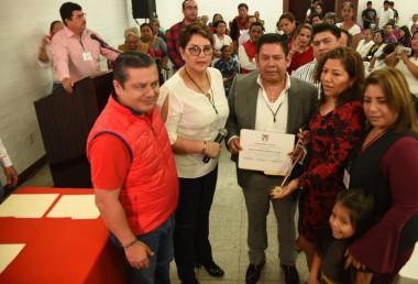 Emotiva sesión ordinaria del consejo político municipal del PRI en San Andrés