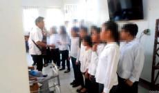 """Coro Infantil y Juvenil de San Andrés Tuxtla se presentó en el asilo de ancianos """"Asunción De María"""""""