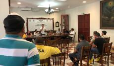 Autoridades de Tlacotalpan sostienen reunión preventiva con prestadores de servicios