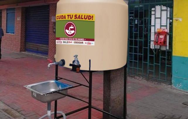 Se colocarán 6 lavamanos en catemaco, ante la emergencia sanitaria del COVID-19