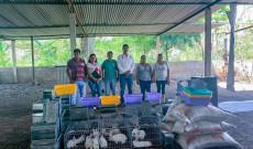 Argeniz Vázquez Copete entrega proyecto «Cría de conejos de patio»