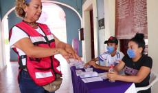 Instalan módulo preventivo de COVID-19 en Ayuntamiento de Tlacotalpan