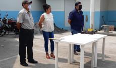 Lancheros Libres de Catemaco reciben segundo apoyo alimentario por parte de la empresa Servi-Brujos