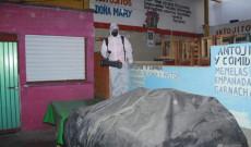 Continuamos con la sanitización del mercado municipal: Argeniz Vázquez Copete