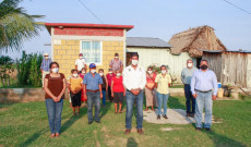 Continuamos llevando obra pública a las comunidades: Argeniz Vázquez Copete