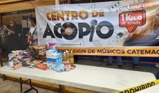 Músicos de Catemaco se unen para apoyar a su gremio y a familias de escasos recursos