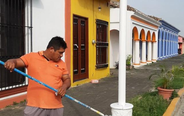 Christian Romero mejora Tlacotalpan