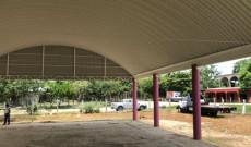Construye Christian Romero domo en Las Amapolas
