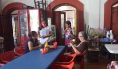 Ayuntamiento de Tlacotalpan entrega lineamientos de salud a comerciantes ante el COVID19