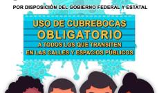 En Santiago Tuxtla el uso de cubrebocas es obligatorio