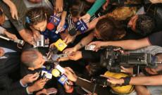 Reporteros y camarógrafos arriesgan su vida todos los días