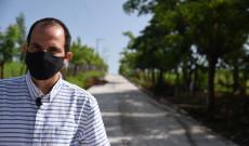 Con el camino de concreto hidráulico Arroyo Limón- El Nopal, rescatamos del abandono a las comunidades de esa región: Tavo Pérez