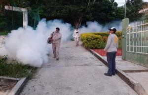 Mi gobierno continúa firme la lucha contra el dengue: Argeniz Vázquez Copete