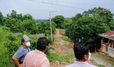 Ampliamos el servicio de energía eléctrica en la colonia Angel Carvajal: Argeniz Vázquez Copete