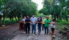 Entregué la obra de huellas para el camino Medellín-San Marcos Grande: Argeniz Vázquez Copete