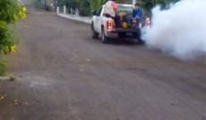 En la localidad de Tapalapan se llevó acabo fumigaciones en coordinación con la Jurisdicción Sanitaria no. X: Argeniz Vázquez Copete