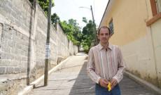"""""""Habitantes, pero en especial los alumnos de la primaria, se verán beneficiados con esta obra en El Arenal"""": Tavo Pérez"""