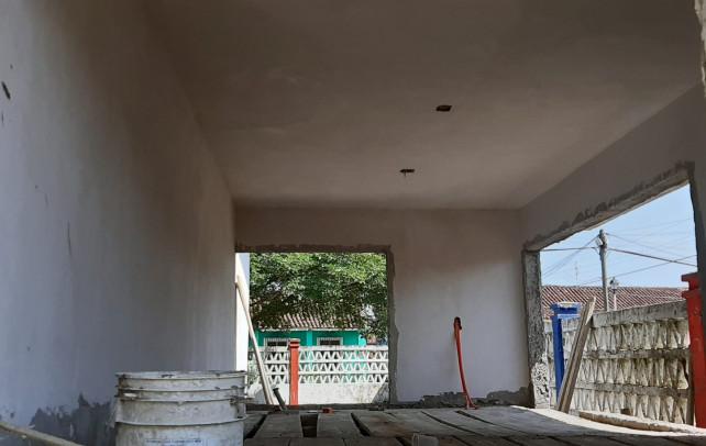 Construye Christian Romero Biblioteca a Jardín de Niños de Tlacotalpan