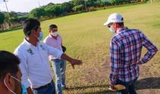 Inician los trabajos para construcción de la Unidad Deportiva «El Palenque»