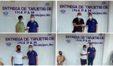 Entrega DIF Tlacotalpan tarjetas INAPAM