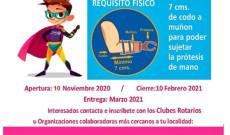 """Apoya el DIF de San Andrés Tuxtla con prótesis a través del programa """"Te damos una mano"""""""