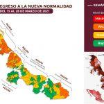 Veracruz entre los siete estados que  pasan a semáforo verde