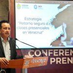 Avanza estrategia de retorno a clases presenciales; iniciarían el 24 de mayo: Cuitláhuac García