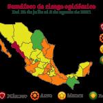Veracruz ya está en semáforo naranja, va en ascenso con caso activos