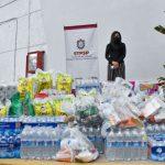"""Brigada STPSP realizó segunda entrega de víveres a damnificados por """"Grace""""."""